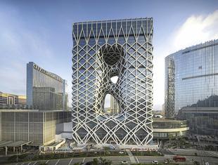 Hotel Morfeusz w Makao. Projekt Zaha Hadid Architects